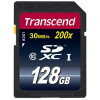 Carte Mémoire SD Transcend 30 Mb/s UHS-I - 128GB