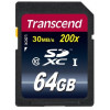 Carte Mémoire SD Transcend 30 Mb/s UHS-I - 64GB