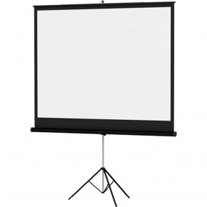 Écran de projection 70 x 70po (blanc mat)