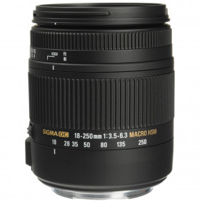 18-250mm f/3.5-6.3 DC Macro OS pour Canon EF