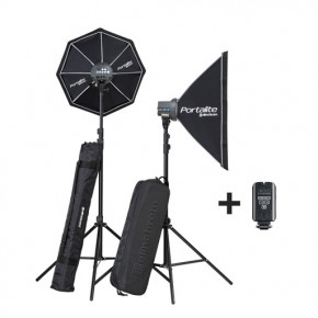 Ensemble d'éclairage flash D-Lite RX ONE Softbox Set