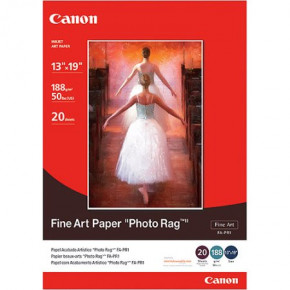 Papier Canon fine art photo rag 20 feuilles 13 x 19