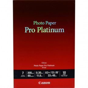 Papier Canon photo pro platinum 10 feuilles 13'' x 19''