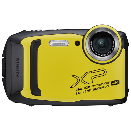 fuji FinePix XP140 (Jaune)