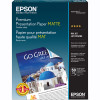 Epson Double-Sided Matte Paper 50 sheets 8.5 x 11