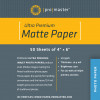 "Promaster Heavy-Weight Matte Inkjet Paper 50 sheets 4"" x 6"""