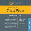 "Promaster Heavy-Weight Glossy Inkjet paper 50 Sheets 4"" x 6"""