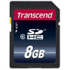 Transcend 20 Mb/s SDHC UHS-I SD Memory Card - 8GB