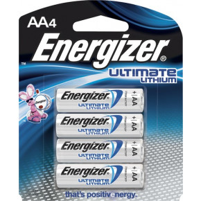 AA Ultimate Lithium Batteries (4)