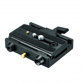 Quick Release Adapter with Sliding Plate and Safety Lock