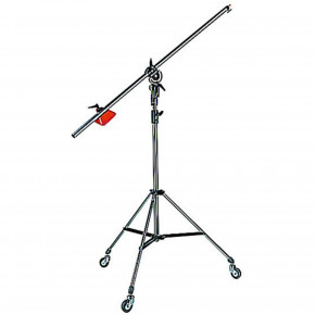 Heavy Duty Black Light Boom, 008BU Stand with Casters