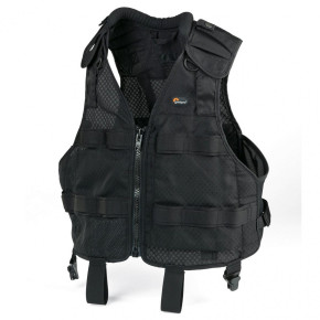 S&F Black Technical Vest (Small/Medium)
