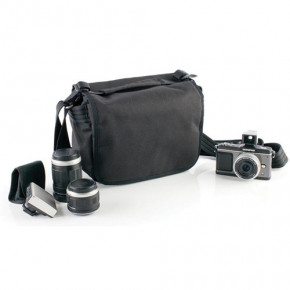 Retrospective 5 Shoulder Bag (Black)