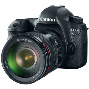 EOS 6D with EF 24-105mm L IS USM Lens