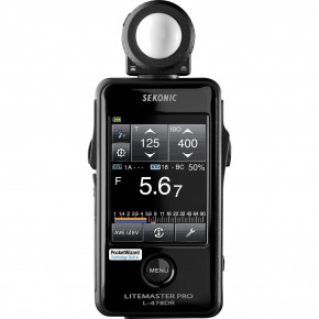 LiteMaster Pro L-478DR Light Meter with Touch Screen