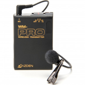 Pro Series VHF Wireless Transmitter and Lapel Mic