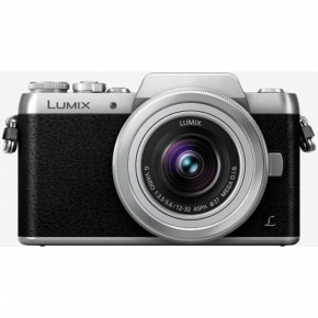 Lumix DMC-GF7 (Black) with Lumix G Vario 12-32mm Lens