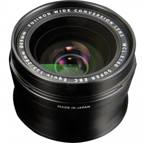WCL-X100 28mm Wide Conversion Lens for for X100 (Black)