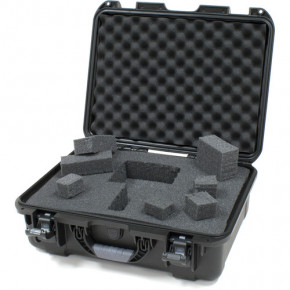 930 Professional protective case with foam (Black)