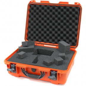 930 Professional protective case with foam (Orange)
