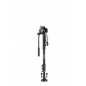 XPRO video monopod with 500 Fluid head / base