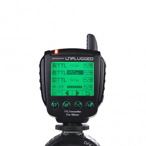Unplugged TTL transmitter for Nikon