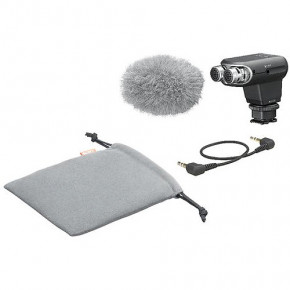 ECM-XYST1M Stereo Mic For Multi-Interface Shoe
