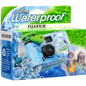 Quicksnap 800 Waterproof 35mm Disposable Camera - 27 Exposures