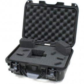 915 Professional protective case with foam (Black)