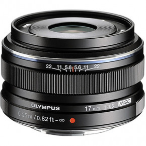 M.Zuiko 17mm f/1.8 (Black)