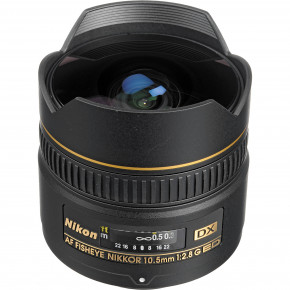 Used - AF Fisheye 10.5mm f/2.8G ED