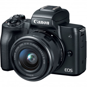Canon EOS M50 with EF-M 15-45mm IS STM Lens
