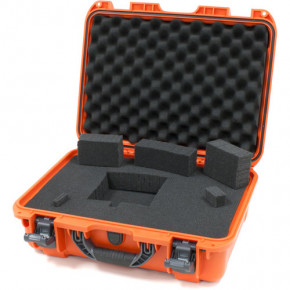 925 Professional protective case with foam (Orange)