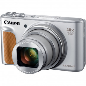 PowerShot SX740 HS with Case (Silver)