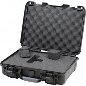 910 Professional protective case with foam (Black)