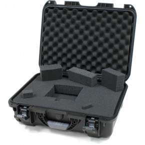 925 Professional protective case with foam (Black)