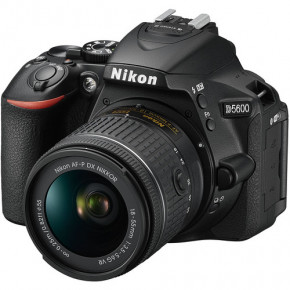 D5600 with AF-P 18-55mm VR Lens