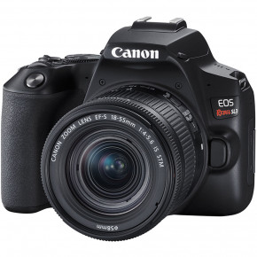 EOS Rebel SL3 with EF-S 18-55mm f/4-5.6 IS STM Lens (Black)