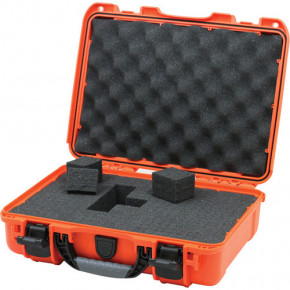 910 Professional protective case with foam (Orange)