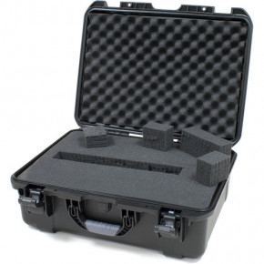 940 Professional protective case with foam (Black)