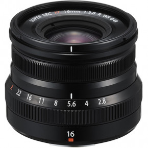 XF 16mm f/2.8 R WR (Black)