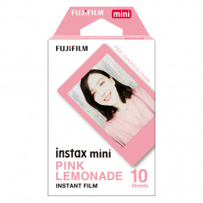 Instax Mini Pink Lemonade Instant Film (10 Sheets)