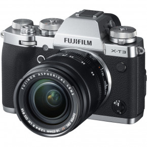 X-T3 with XF 18-55mm f/2.8-4 R LM OIS Lens (Silver)