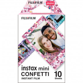 Instax Mini Confetti Instant Film (10 Sheets)