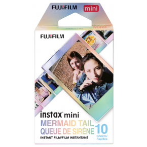 Instax Mini Mermaid Tail Instant Film (10 Sheets)