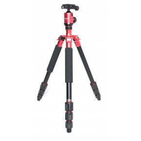 C4i Tripod with FPH-53P ball head (red)