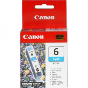 Canon Cyan BCI-6C Ink Cartridge