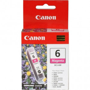 Canon Magenta BCI-6M Ink Cartridge