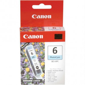 Canon Photo Cyan BCI-6PC Ink Cartridge