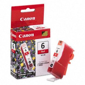 Canon Red BCI-6R Ink Cartridge
